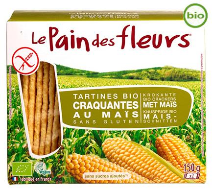 Le Pain des Fleurs Mais Crackers BIO 150g