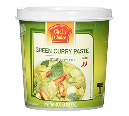 Chef's Choice Currypasta Groen 400g