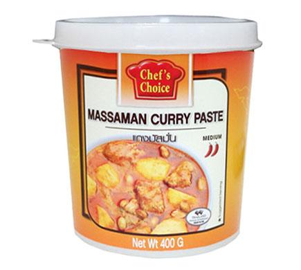 Chef's Choice Currypasta Massaman 400g