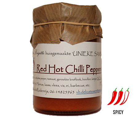 Van Brigitte Delicatessen Red Hot Chilli Peppers 100g