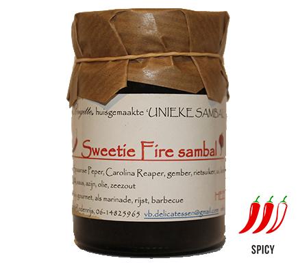 Van Brigitte Delicatessen Sweetie Fire Sambal 100g