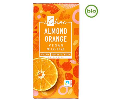 iChoc Rice Choc Almond Orange BIO 80g