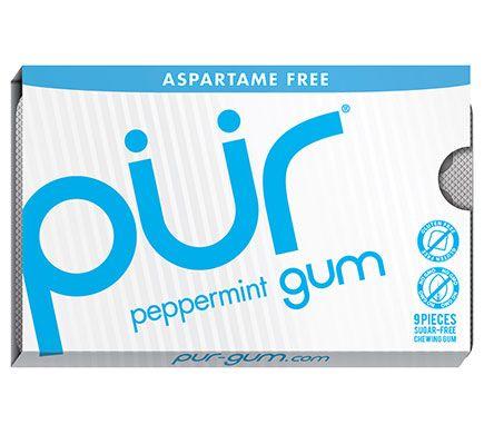 PÃœR GUM Kauwgom Peppermint 12g