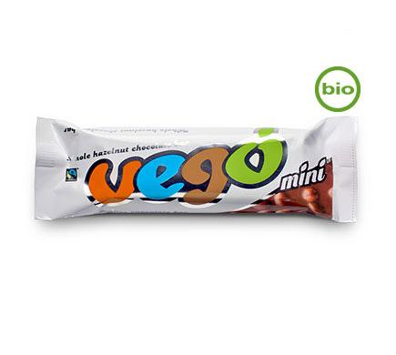 Vego Chocolate VEGO Mini Hele Hazelnoot Chocoreep BIO 65g