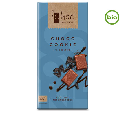 iChoc Rice Choc Choco Cookie BIO 80g