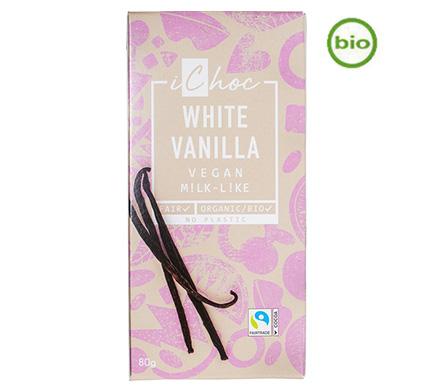 iChoc Rice Choc White Vanilla BIO 80g