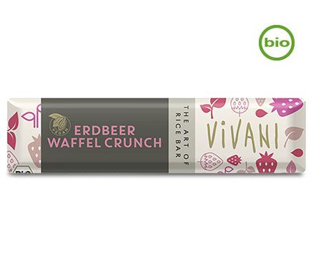 Vivani Chocobar Strawberry Waffle Crunch BIO 35g