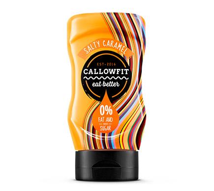 Callowfit Salty Caramel Sauce 300ml