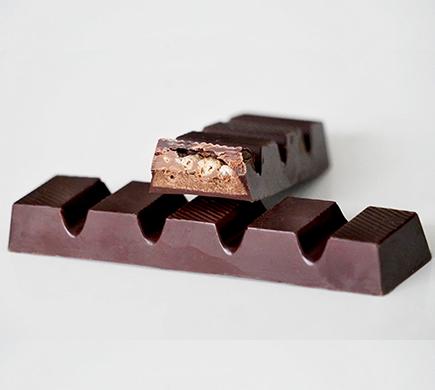 Loulou's Chocolate Chocolate Bar Crispy 40g