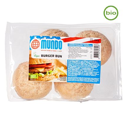 O Mundo Hamburger Broodjes BIO 250g
