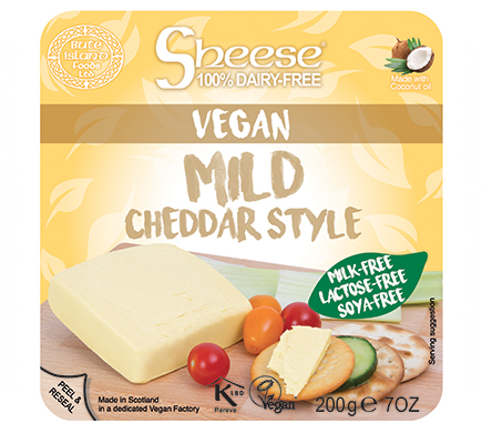 Bute Island Sheese Mild Cheddar Style 200g