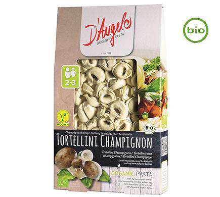 D'Angelo Tortellini met champignons BIO 250g