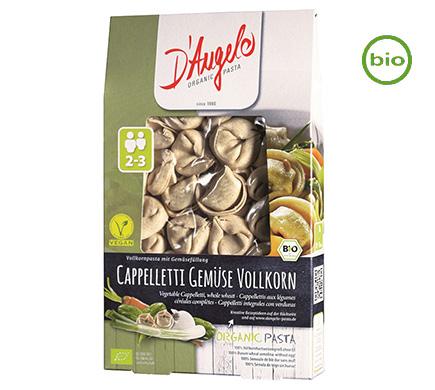 Volkoren Capelleti met groenten BIO 250g