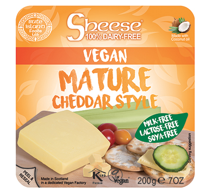Sheese Mature Cheddar Style 200g