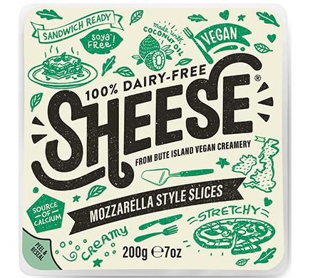 Sheese Mozzarella Style Slices 200g