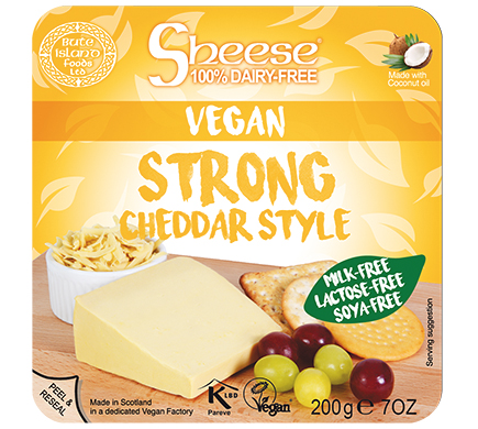 Sheese Strong Cheddar Style 200g