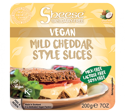 Sheese Mild Cheddar Style Slices 200g