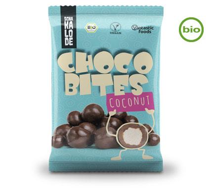 Schakalode Choco Bites Kokos BIO 50g