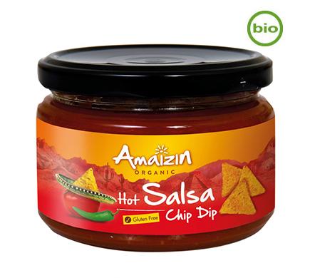 Salsa Hot BIO 260g