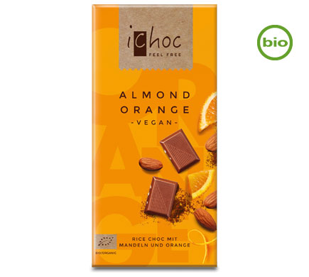 Rice Choc Almond Orange BIO 80g