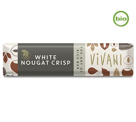 Chocobar White Nougat Crisp BIO 35g