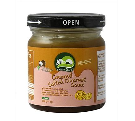 Coconut Salted Caramel Sauce 200g