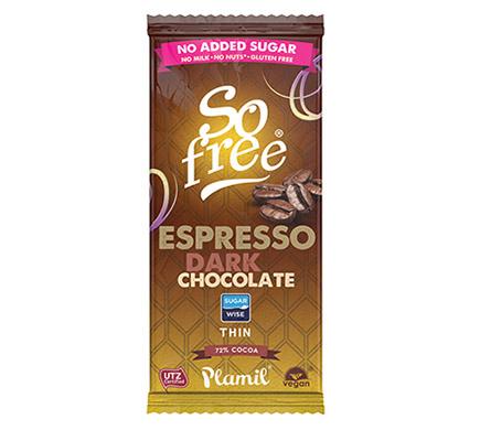 Chocolade Puur Espresso 80g (t.h.t. 02-05)