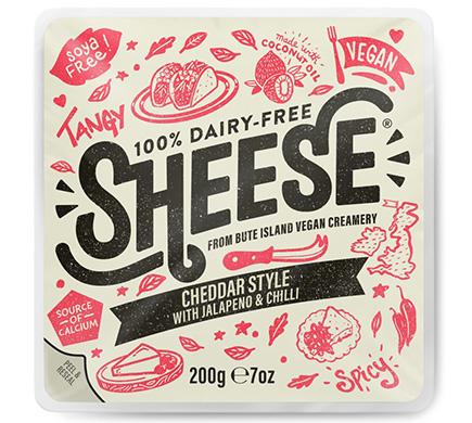 Sheese Cheddar met Jalapeno & Chili 200g