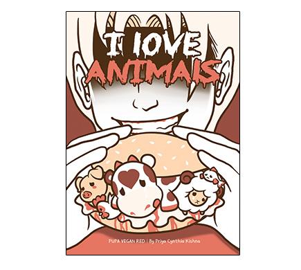 Pupa Vegan Red - I Love Animals