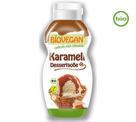 Dessertsaus Karamel BIO 250g
