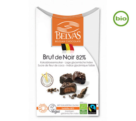 Brut de Noir 82% BIO 100g