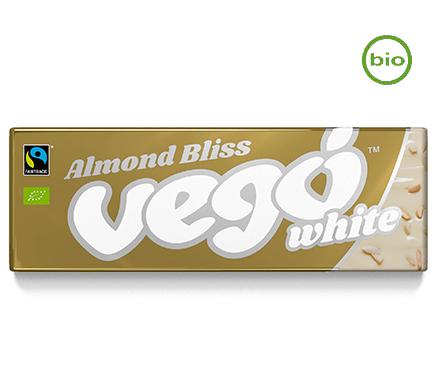 Witte Chocoreep Amandel BIO 50g