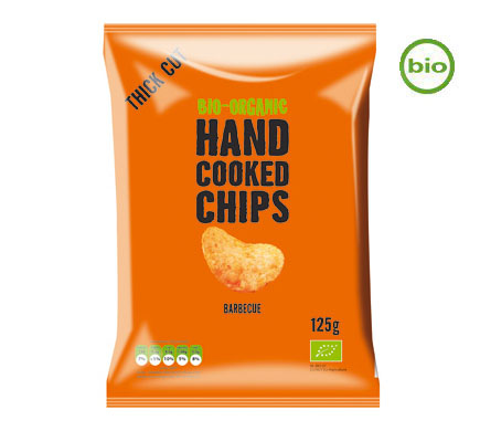 Handcooked Chips Barbecue BIO 125g