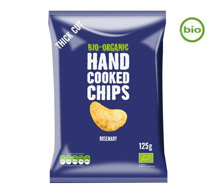 Handcooked Chips Rozemarijn BIO 125g
