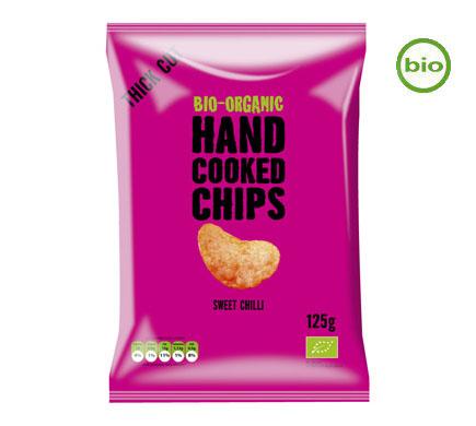 Handcooked Chips Sweet Chili BIO 125g