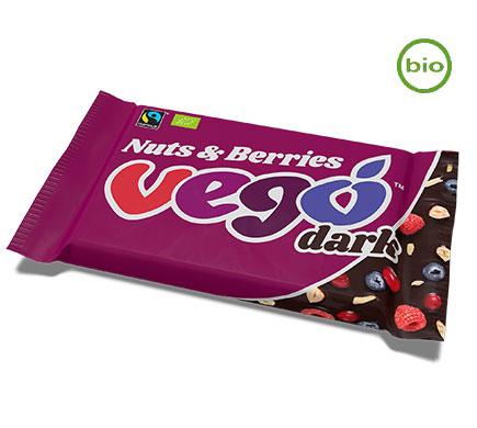 Chocoreep Dark Nuts & Berries BIO 85g