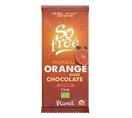 Chocolade Puur Sinaasappel BIO 80g