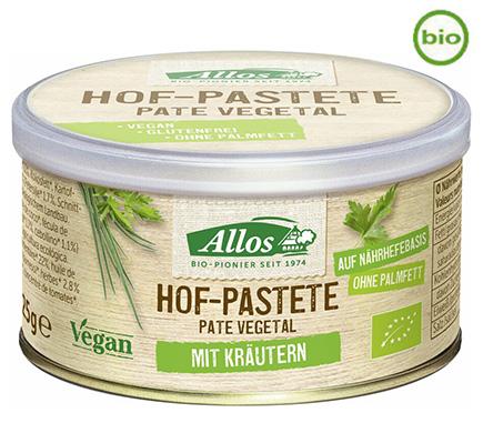 Hof Paté Kruiden BIO 125g